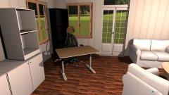 Raumgestaltung Altes Wohnzimmer ausgeräumt in der Kategorie Wohnzimmer
