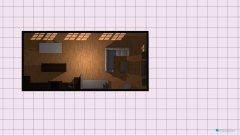 Raumgestaltung Anbau 1 in der Kategorie Wohnzimmer