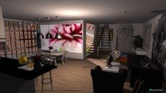 Raumgestaltung apartament  in der Kategorie Wohnzimmer