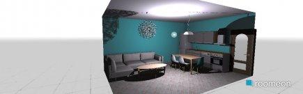 Raumgestaltung Apartman 1 in der Kategorie Wohnzimmer