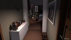 Raumgestaltung apartment area in der Kategorie Wohnzimmer