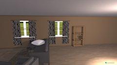 Raumgestaltung apartment in der Kategorie Wohnzimmer