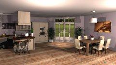 Raumgestaltung Appartement in der Kategorie Wohnzimmer