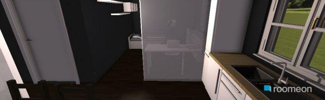 Raumgestaltung Appartment II (Wohnraum) in der Kategorie Wohnzimmer