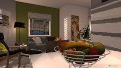 Raumgestaltung appartment in der Kategorie Wohnzimmer