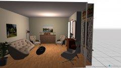 Raumgestaltung Apple Valley 2 in der Kategorie Wohnzimmer