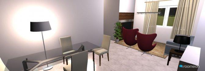 Raumgestaltung Apto Ricardo in der Kategorie Wohnzimmer