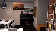 Raumgestaltung Armends Jungesellenbude in der Kategorie Wohnzimmer