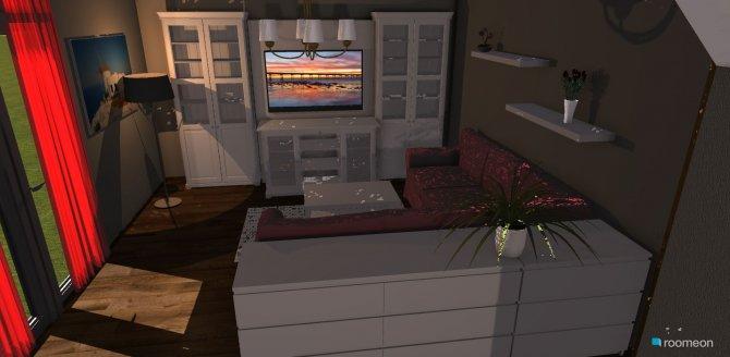 Raumgestaltung Aus Zwei mach ein in der Kategorie Wohnzimmer
