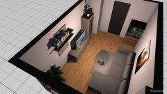 Raumgestaltung Balkonzi in der Kategorie Wohnzimmer