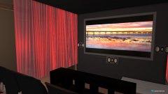 Raumgestaltung Ballsaal (Kino) in der Kategorie Wohnzimmer