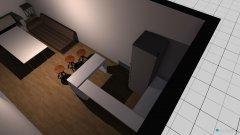 Raumgestaltung Bauwong eng in der Kategorie Wohnzimmer