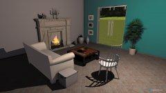 Raumgestaltung Beach in der Kategorie Wohnzimmer