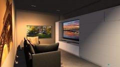 Raumgestaltung beige living room minimal in der Kategorie Wohnzimmer