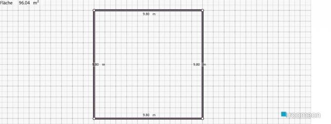 Raumgestaltung Beispiel in der Kategorie Wohnzimmer