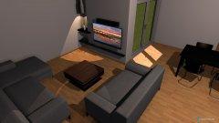 Raumgestaltung Åben 2 in der Kategorie Wohnzimmer