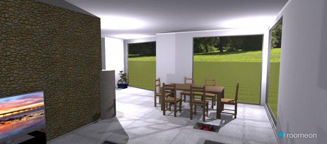 Raumgestaltung Benis Haus in der Kategorie Wohnzimmer