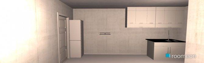Raumgestaltung Big Living&Kitchen in der Kategorie Wohnzimmer