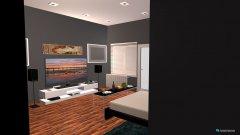 Raumgestaltung big room in der Kategorie Wohnzimmer
