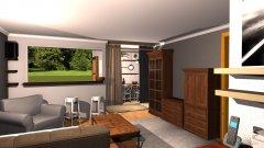 Raumgestaltung Binder Wohnzimmer in der Kategorie Wohnzimmer