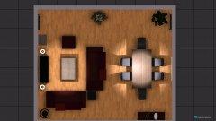 Raumgestaltung Borgfelder Deich in der Kategorie Wohnzimmer