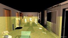 Raumgestaltung Borkhorn in der Kategorie Wohnzimmer