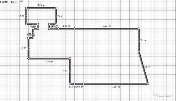 Raumgestaltung Brigitte in der Kategorie Wohnzimmer