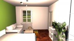 Raumgestaltung Brucknerstr. Wohnzimmer in der Kategorie Wohnzimmer