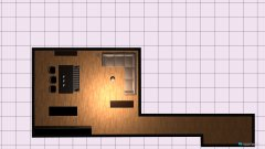 Raumgestaltung bude in der Kategorie Wohnzimmer