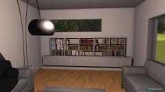 Raumgestaltung Bücherregal-netschön in der Kategorie Wohnzimmer