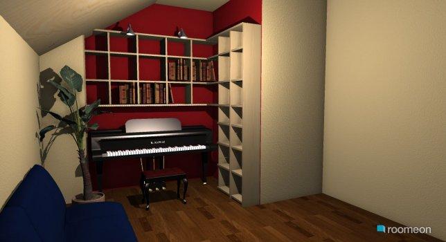 Raumgestaltung bÜCHERREGAL in der Kategorie Wohnzimmer