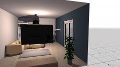 Raumgestaltung Burki Wohnzimmer in der Kategorie Wohnzimmer