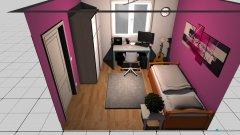 Raumgestaltung Carolins Zimmer in der Kategorie Wohnzimmer