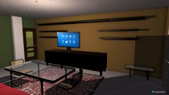 Raumgestaltung casa1 in der Kategorie Wohnzimmer