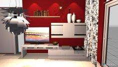 Raumgestaltung CG-W1 in der Kategorie Wohnzimmer
