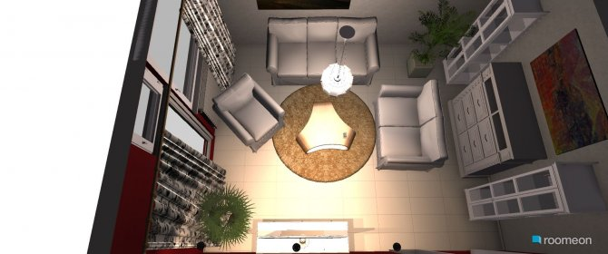Raumgestaltung CG-W3 in der Kategorie Wohnzimmer