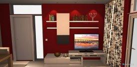 Raumgestaltung CG-W6 in der Kategorie Wohnzimmer
