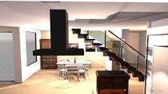 Raumgestaltung CH64_EG in der Kategorie Wohnzimmer