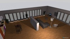 Raumgestaltung chadafö e stüva in der Kategorie Wohnzimmer