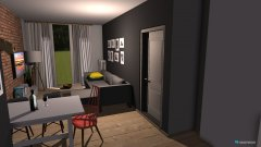 Raumgestaltung chata in der Kategorie Wohnzimmer