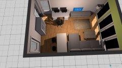 Raumgestaltung Christopher Wohnzimmer in der Kategorie Wohnzimmer