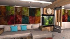 Raumgestaltung citywood in der Kategorie Wohnzimmer