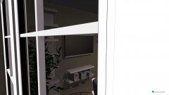 Raumgestaltung Clasic white living room in der Kategorie Wohnzimmer
