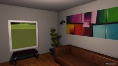 Raumgestaltung cognac in der Kategorie Wohnzimmer