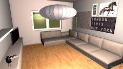 Raumgestaltung Cruchten Living in der Kategorie Wohnzimmer