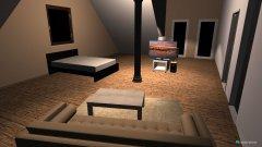 Raumgestaltung Dachboden_Roomeon in der Kategorie Wohnzimmer