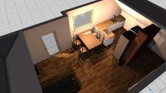 Raumgestaltung Dachgeschoss 3 in der Kategorie Wohnzimmer