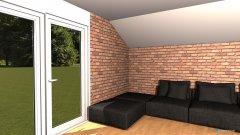 Raumgestaltung Dachgeschoss in der Kategorie Wohnzimmer