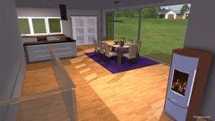 Raumgestaltung Dachgeschoss_Wohn-Essbereich_2 in der Kategorie Wohnzimmer