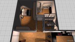 Raumgestaltung Dachwohnung 3 wohnzimmer in der Kategorie Wohnzimmer